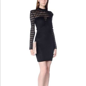 BALMAIN PARIS BLACK DRESS SUPER SALE Price Dropped